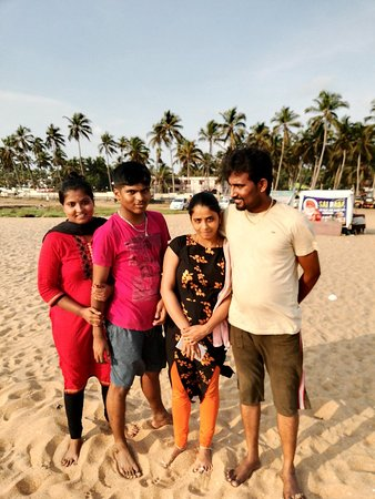 evening with family at chavakkad beach