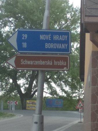 Monument of Jakub Krcin: cesta k soše