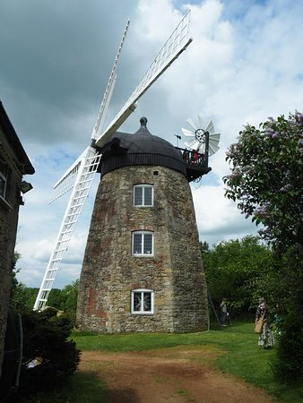 Wheatley, UK: The lovely restored mill in May 2018.