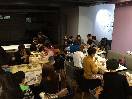 In Art Studio: corporative workshops
