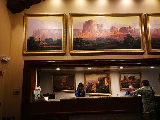 Grand Canyon Railway Hotel: Lobby