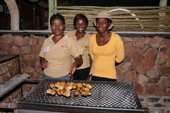 Khorixas, ناميبيا: Staff