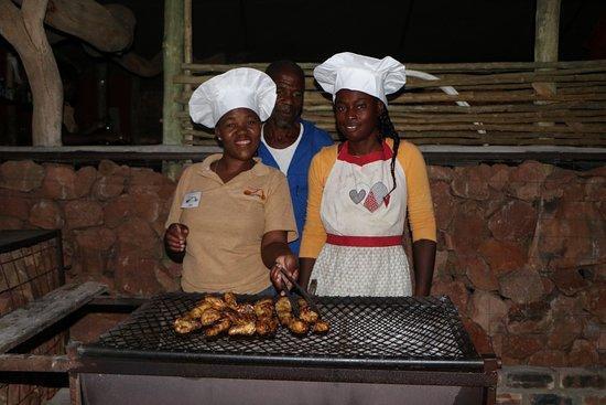 Khorixas, Namibia: Staff