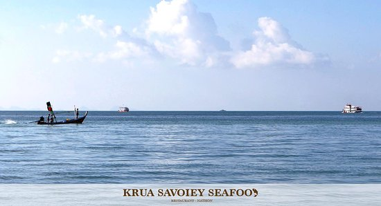 Krua Savoey Seafood Restaurant: Seaviews