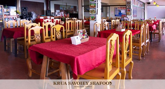 Krua Savoey Seafood Restaurant: Atmosphere