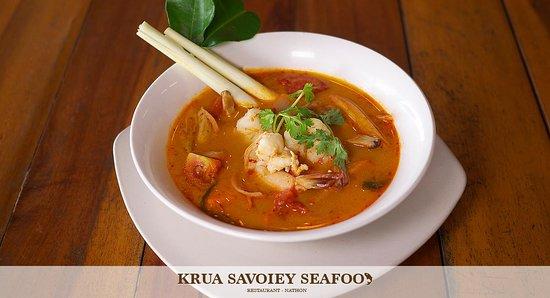 Krua Savoey Seafood Restaurant: Tom yam noodle