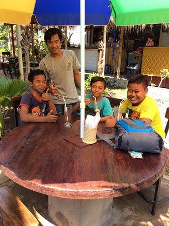 Антуран, Индонезия: Our little friend Aris...