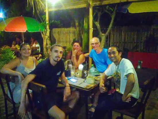 Anturan, Indonesien: Our friends from France