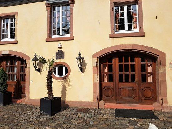 Edesheim, เยอรมนี: Eingang der Suite Michelangelo