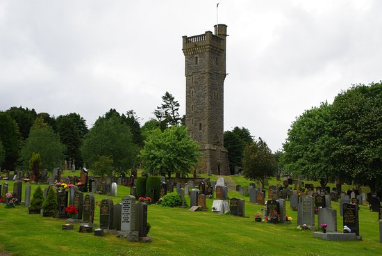 Mitchell Hill cemetery and  monument, Dingwall