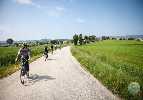 Bevagna, Italia: Bike & Bite Tour - Umbria with Greenways Italy Tours