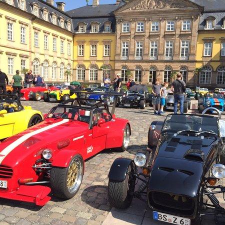 Bad Arolsen, เยอรมนี: Seven Treffen im Schlosshof