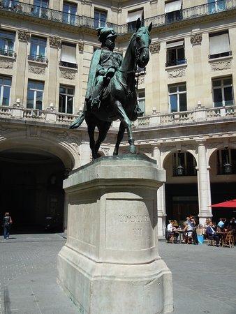 La statue d'Edouard VII