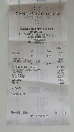 Menù Sipario