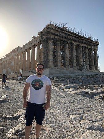 Παρθενώνας: First view of the Parthenon