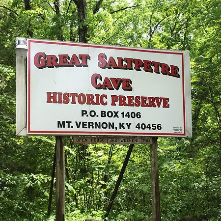 The Great Saltpetre Cave