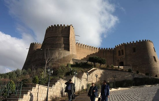 Khorramabad, Iran: outside of the fort