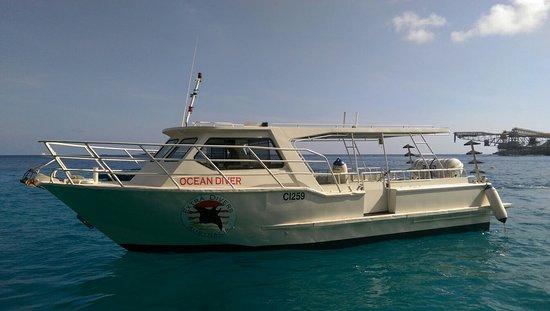 Wyspa Bożego Narodzenia, Australia: Ocean Diver Boat