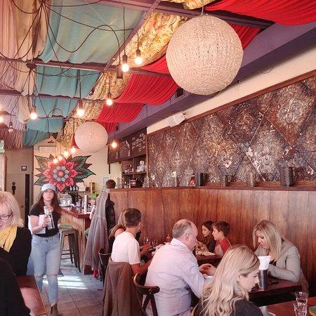 Burro: dining area