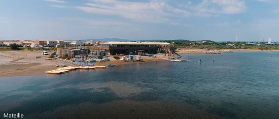 Gruissan Sailing Center: Vue drone 2