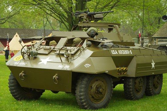 Newburg, WI: Type of r econ vehicle.