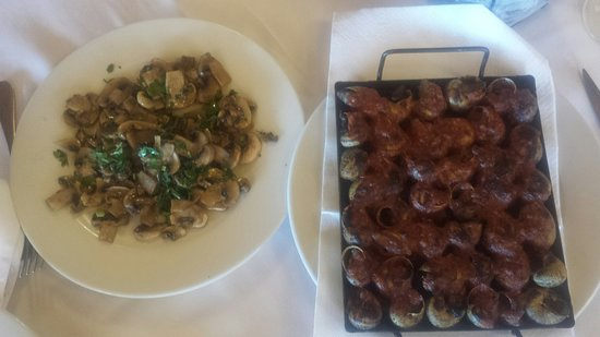 Calonge, Spanien: un dia mas disfrutando de la Comida de Can tia ... muy variado y de gran Calidad. ...