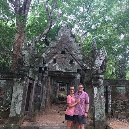 Angkor Cab: Prasad Krachap Koh Ker group Cambodia
