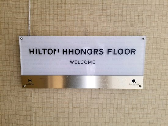 Doubletree by Hilton Hotel Columbia: The Hilton honors room