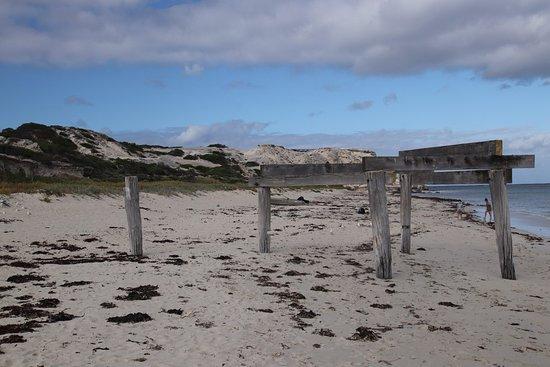 Hamelin Bay: An old pier