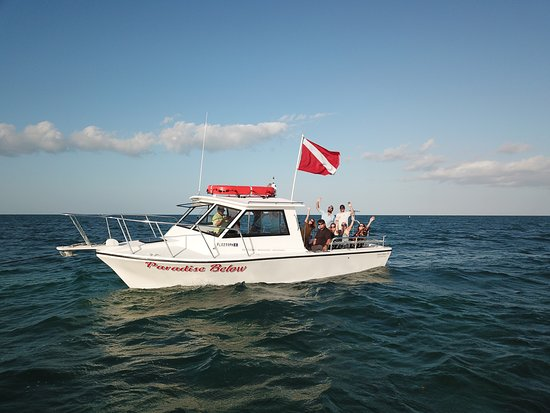 Paradise Island Charters: This is our boat, Paradise Below