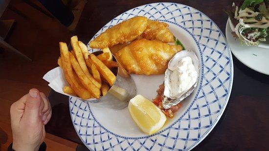 Fishy Fishy Restaurant: Fish and Chips (19.5 Euro)