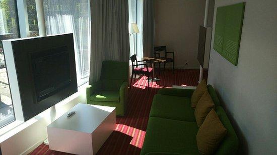 Park Inn by Radisson Meriton Conference & Spa Hotel Tallinn: Sitting area in business room