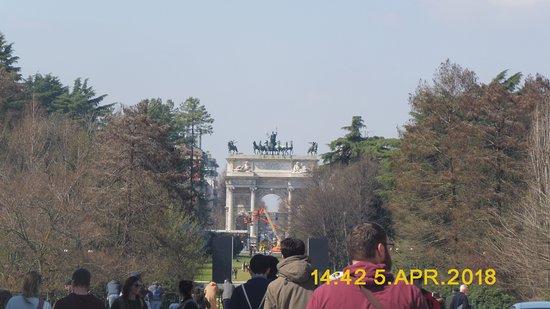 Castello Sforzesco: Parque