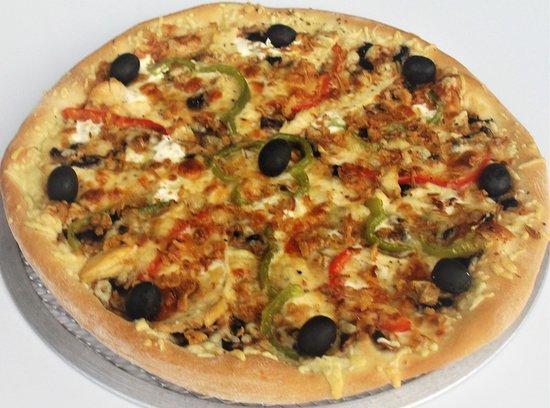Lisle-sur-Tarn, Γαλλία: Pizza fermière et bien d'autre faite artisanalement à déguster sans modération :)