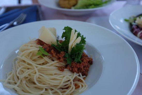 Kropa, Slovenia: spaghetti