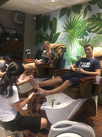 The Garden Nail Spa: Lovely couple! Thanks so much for coming!