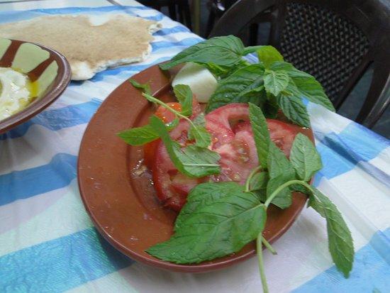 Hashem: Pomodori e menta