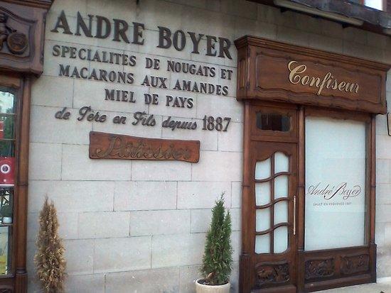 Nougat André Boyer: Devanture