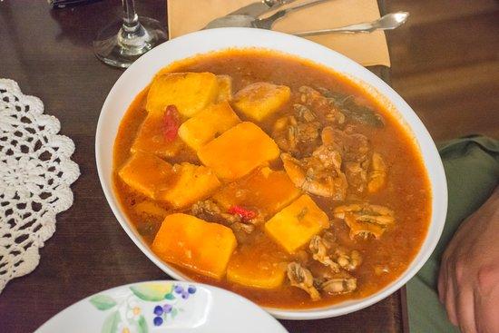 Trattoria Bajamont: food