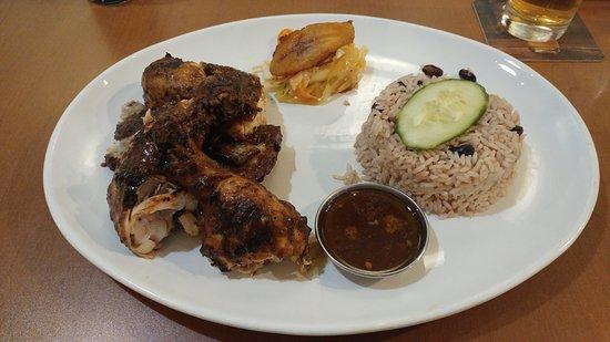 Marks Caribbean Kitchen: Jerk Chicken