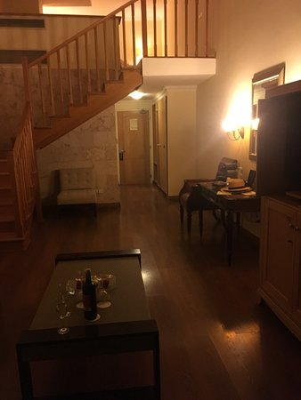 Atlantica Imperial Resort & Spa: Lower level Duplex Suite room 1008