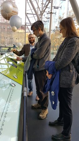 Hayden Planetarium: Family education conversation! Love it!
