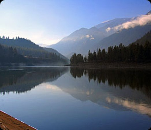 Whistler Fishing: View from Fraser Canyon River Ranch
