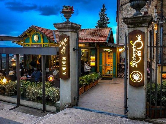Ristorante Del Sole: The restaurant's front entrance