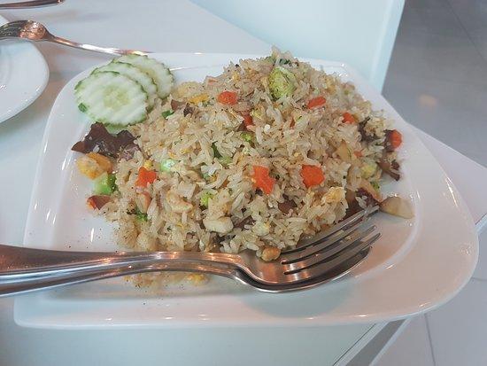 Sabaijai Cafe: рис с овощами