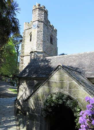 St Just in Roseland, UK: St Just-in-Roseland