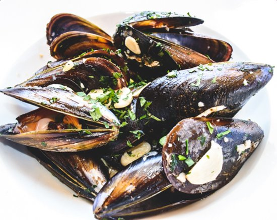 Los Amigos: Grilled prawns