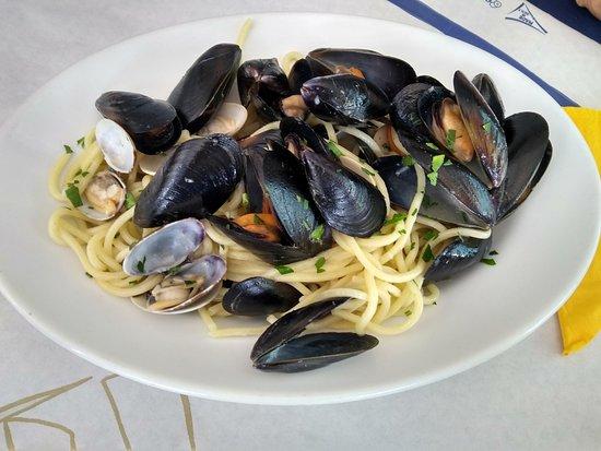 Maremosso: Spaghettoni Cozze e Vongole