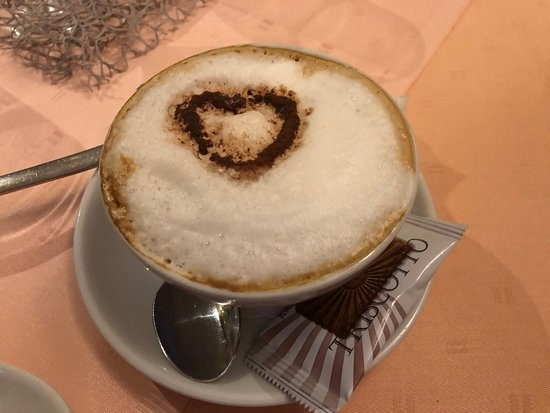 Nierstein, Germany: Cappuccino