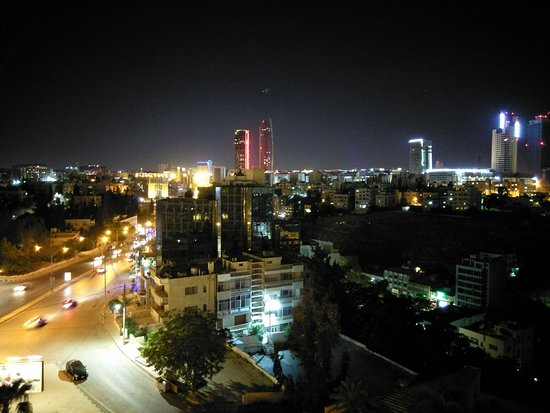Grand Hyatt Amman: room view